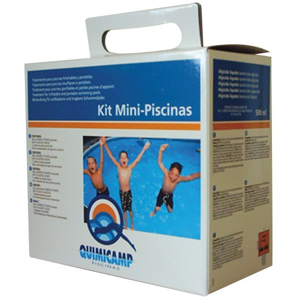 Quimicamp kit mini piscinas for Piscinas pequenas portatiles